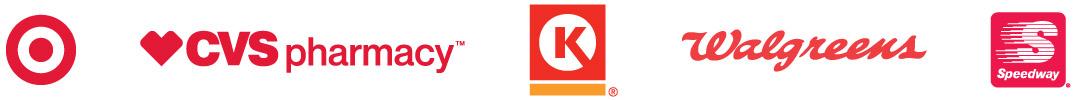 Participating Retailer Logos